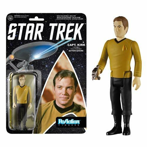 Star Trek Captain Kirk ReAction Action Figure