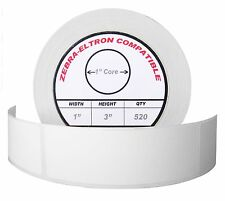 Zebra Eltron 1x3 1 X 3 Direct Thermal Labels 1 Roll Of 520