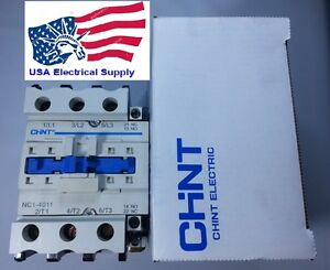 New Schneider LC1D40 Replacement Chint Contactor NC1-4011 Select 110VAC