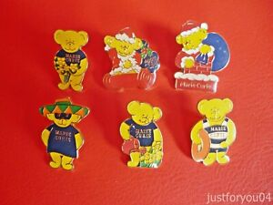 Set-of-6-Mixed-Official-Marie-Curie-Bear-Enamel-pin-badges