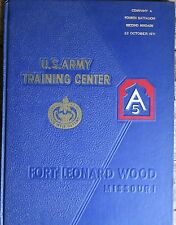 Army Yearbook~Company A 4th Battalion 2nd Brigade~Fort Leonard Wood~Oct. 22 1971
