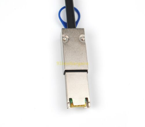 SFF-8087 Mini SAS 36P Pin to SFF-8088 Mini SAS 26P Pin 2 Meter External Cable 2m