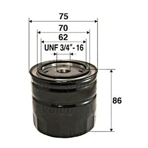 VALEO Oil Filter For FORD VOLVO MAZDA MORGAN B-Max C-Max II Ecosport IV 1883037