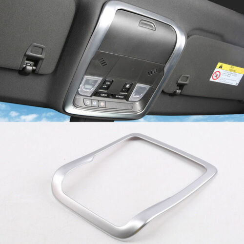 Matte Front Top Roof Reading Light Lamp Cover Trim For Cadillac XT4 2018-2019