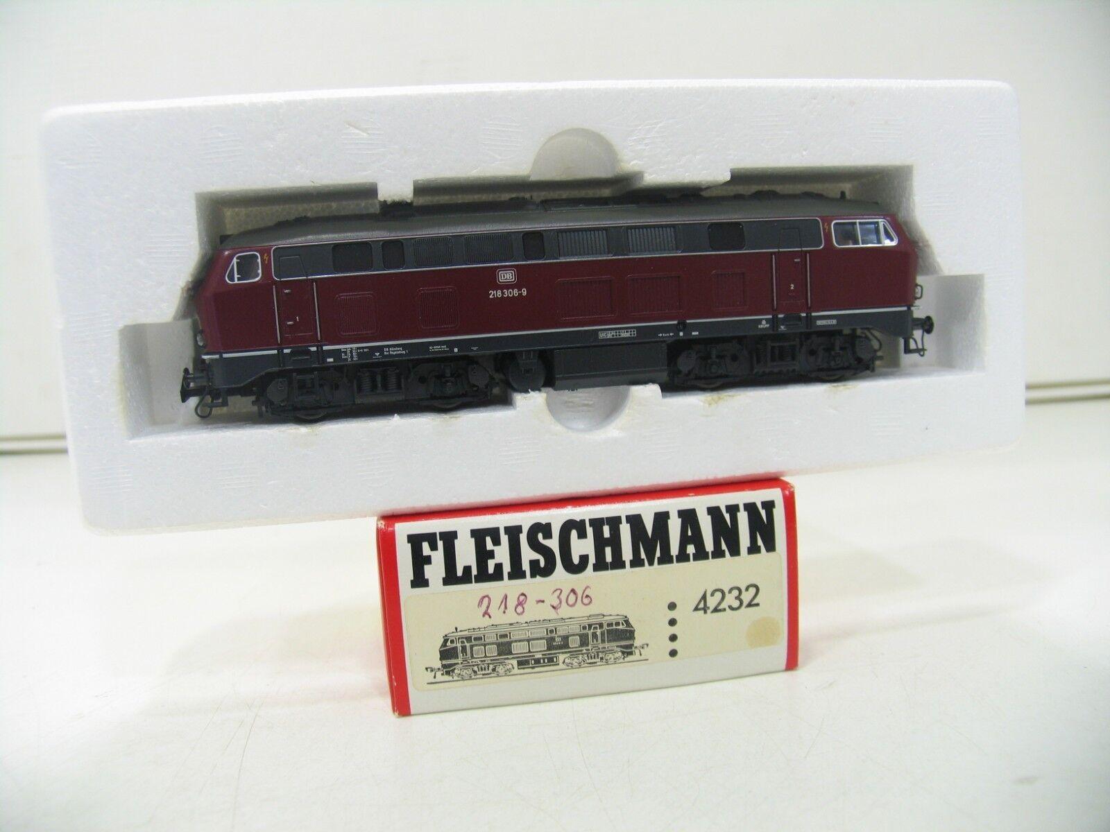 FLEISCHMANN 4232 DIESELLOK BR 218 ROT ROT ROT der DB   WM241  | Bekannt für seine hervorragende Qualität  76baae