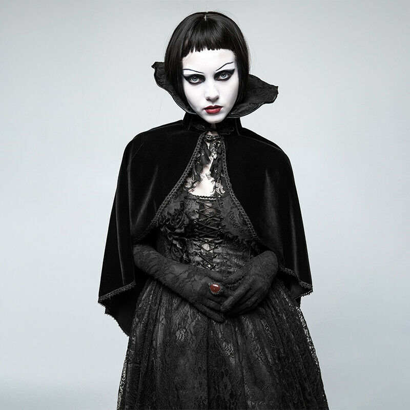 Punk Rave Gargoyle Bolero Cape - Gothic - Victorian - Aristocrat - Fantasy Y-782