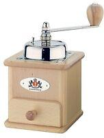 Zassenhaus Brasilia Manual Coffee Mill Grinder, Varnished Beech Made In Germany