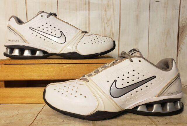 Nike Reax Rockstar White Silver Black
