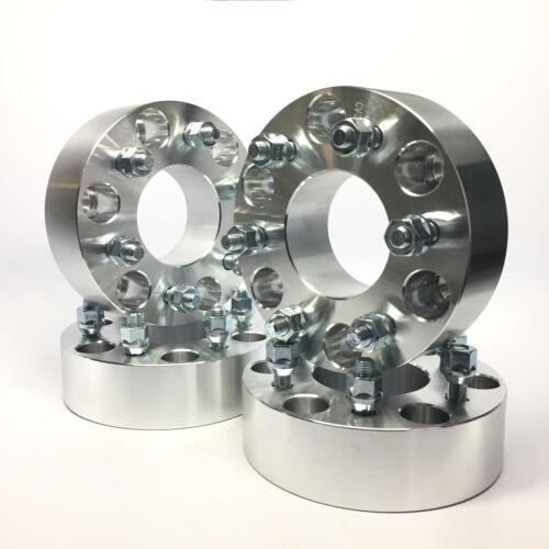 4pc 1.25 Inch Wheel Adapters 6x4.5 to 6x5.5 Hub centric w//o Lip32mm Thick