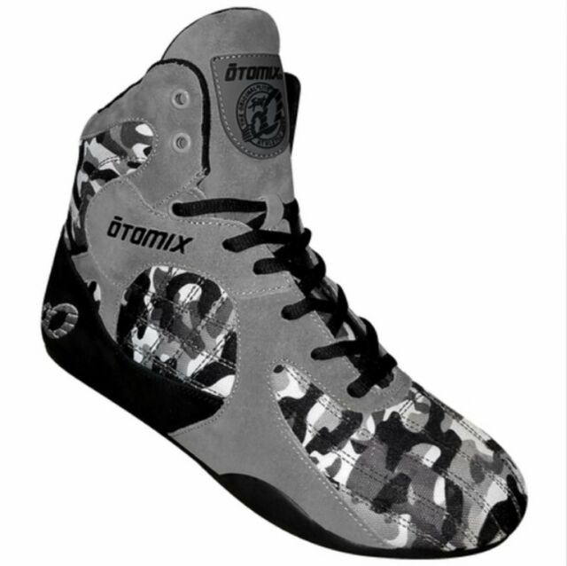 Otomix Stingray Escape Bodybuilding Weightlifting MMA Grappling Shoe Grey//Camo