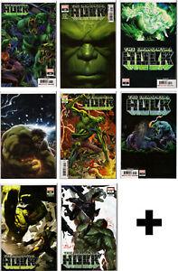 IMMORTAL-HULK-COMIC-BOOKS-1-2-3-4-5-6-7-8-9-10-11-12-13-14-15-16-Marvel-Comics
