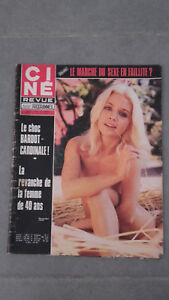 Ciné Rivista - N°47 - 1971 - Il Shock Bardot Cardinale - Brigitte Bardot