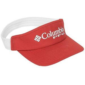 Columbia Sportswear PFG Fishing Visor - Sail Red Color - Choose Size - NEW!