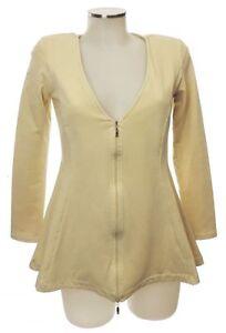 38 Veste Arlette Sweat Nouveau Coton Sweater Kaballo Beige Vanille Cardigan qxTUfET