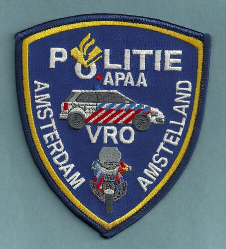 AMSTELLAND AMSTERDAM NETHERLANDS POLICE POLITIE PATCH