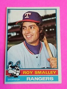 Details About 1976 Topps Baseball Card Nrmint To Mint 657 Roy Smalley Texas Rangers