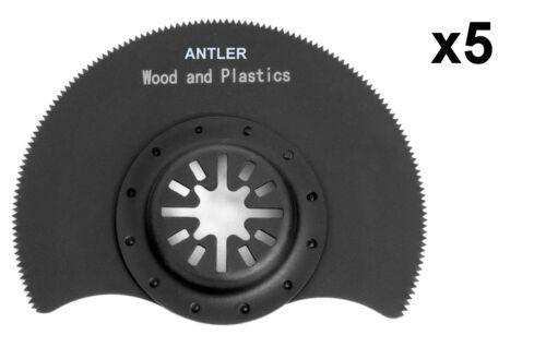 Fein Bosch Makita Oscillating Multitool 88mm Segmented Antler Blades Fits