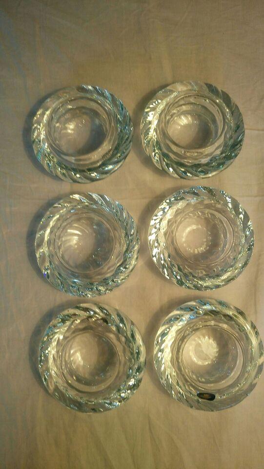 Glas, Lysestager, Holmegaard