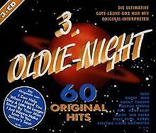 Oldie Night 3-60 Original Hits von Various | CD | Zustand sehr gut