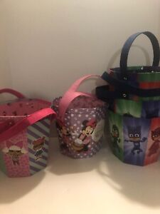 lol-surprise-Minnie-Mouse-Pj-Mask-BDay-Party-Basket-Bucket-Lot-Of-9