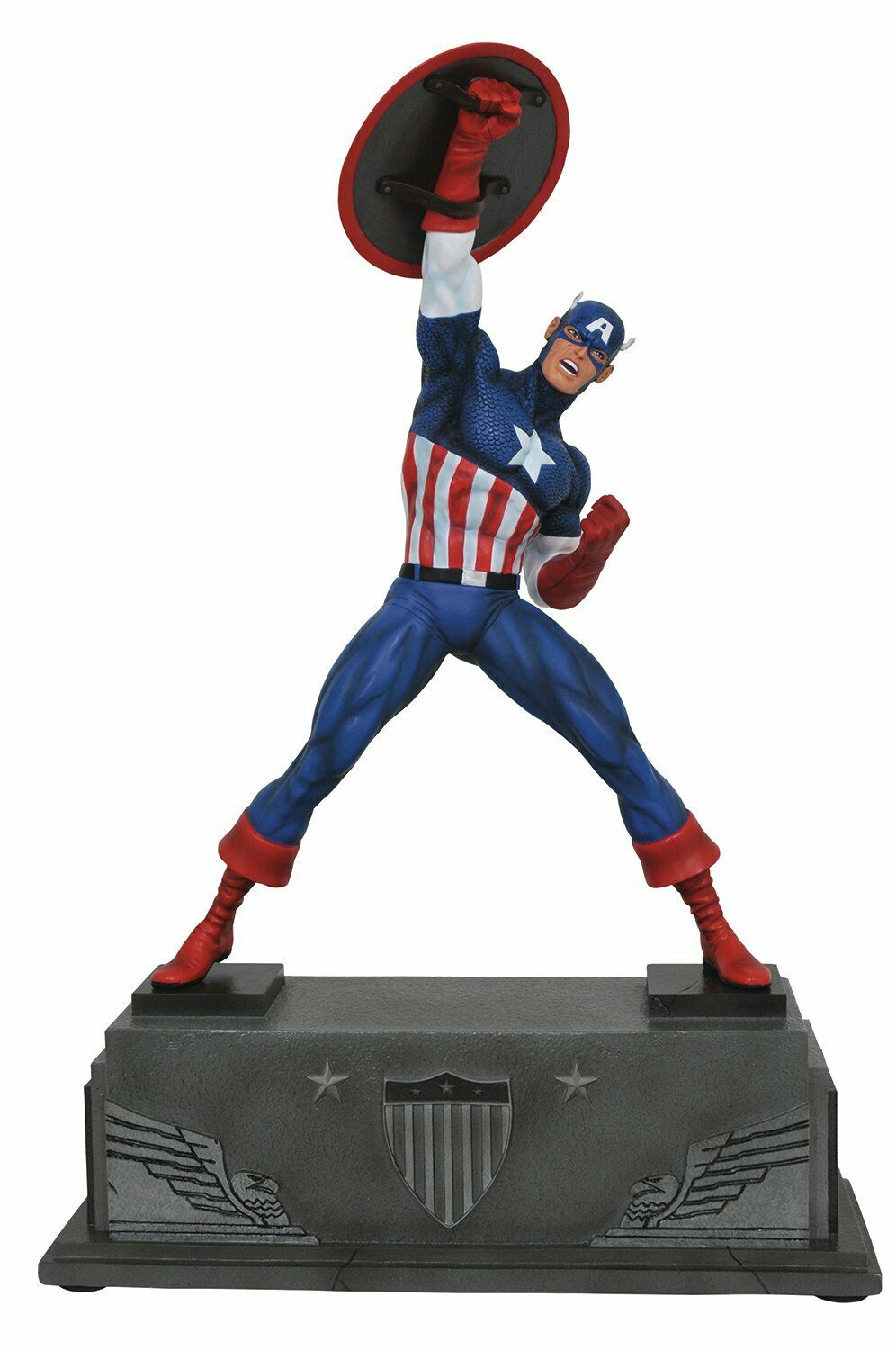 Marvel Comics JUN172632 Premier Collection Captain America Statue