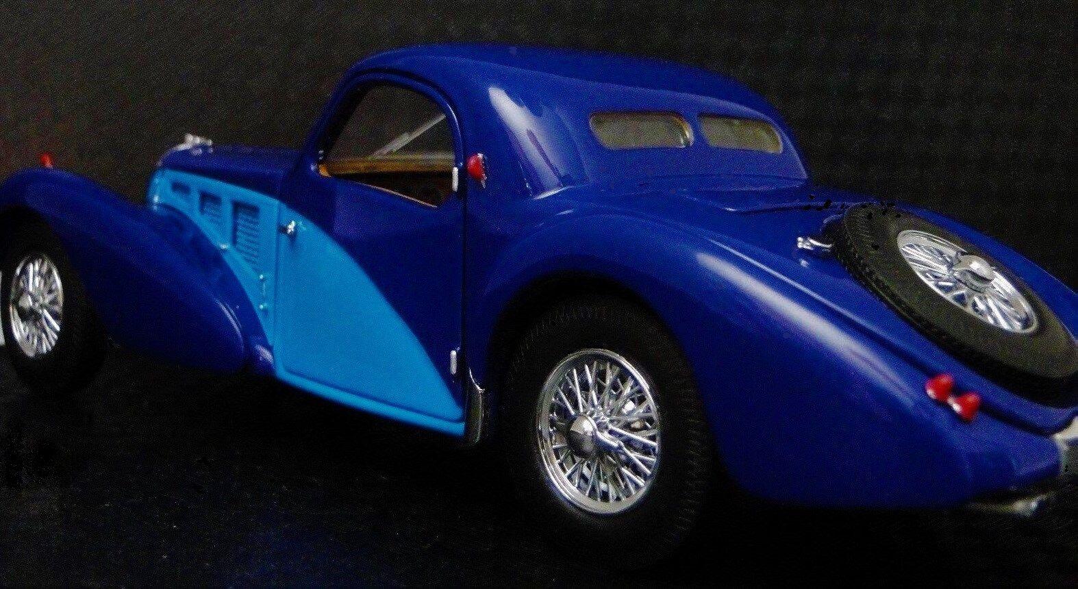1 Bugatti retro sportbil 1930 -talet Sällsynta 12 Exotic Classic 18 Concept tärningskast 24