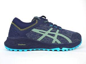 Camión golpeado yo mismo Heredero  Womens Asics Alpine XT T878N Blue Grey Lace Up Trail Running Shoes Trainers  | eBay