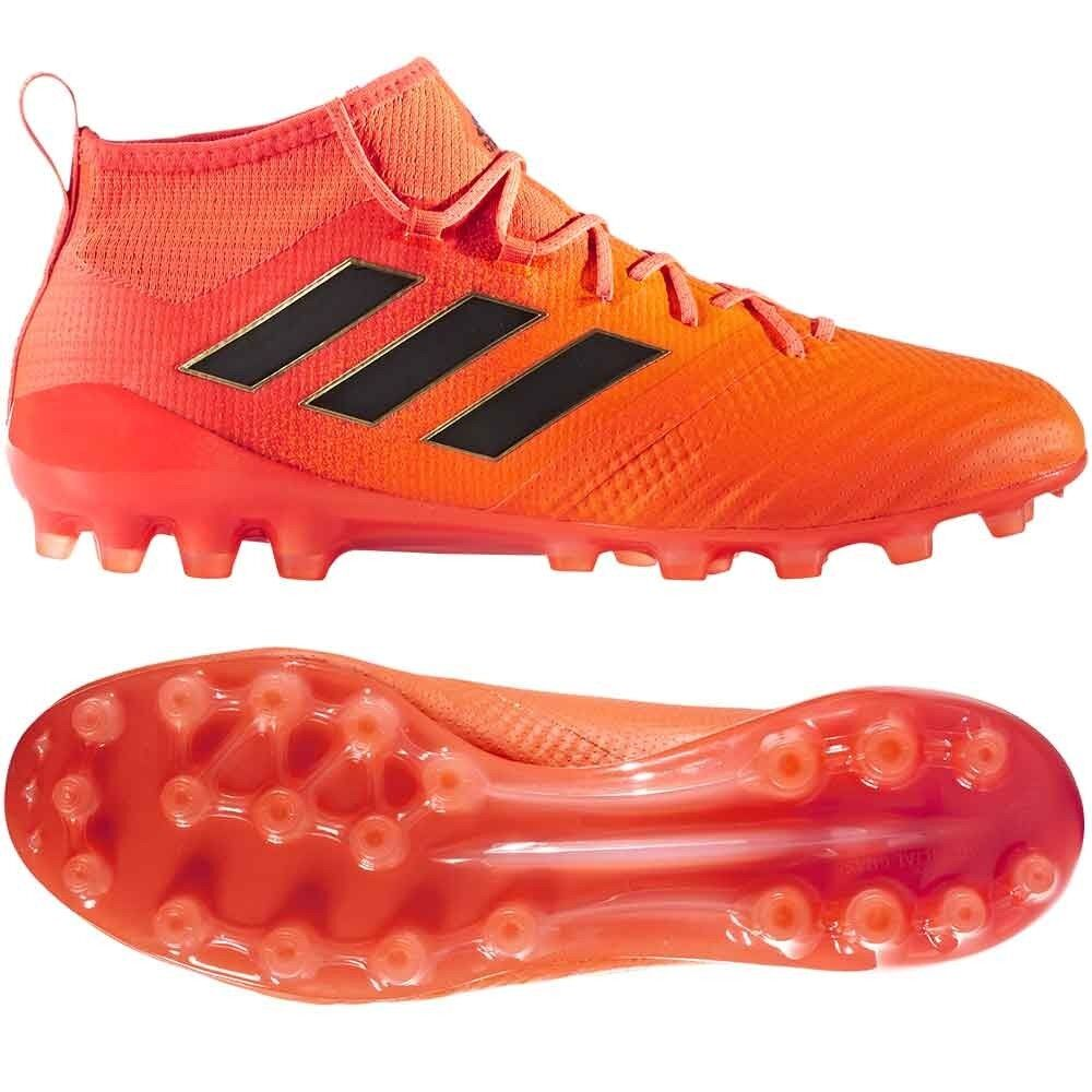ADIDAS ACE 17.1 AG Uomo Sautope da Calcio Erba Artificiale 3G 4G Arancione S77033 £220