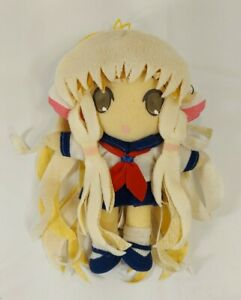 Chii-in-Sailor-Uniform-Plush-by-Clamp-Chobits-Needs-TLC-Read-Description