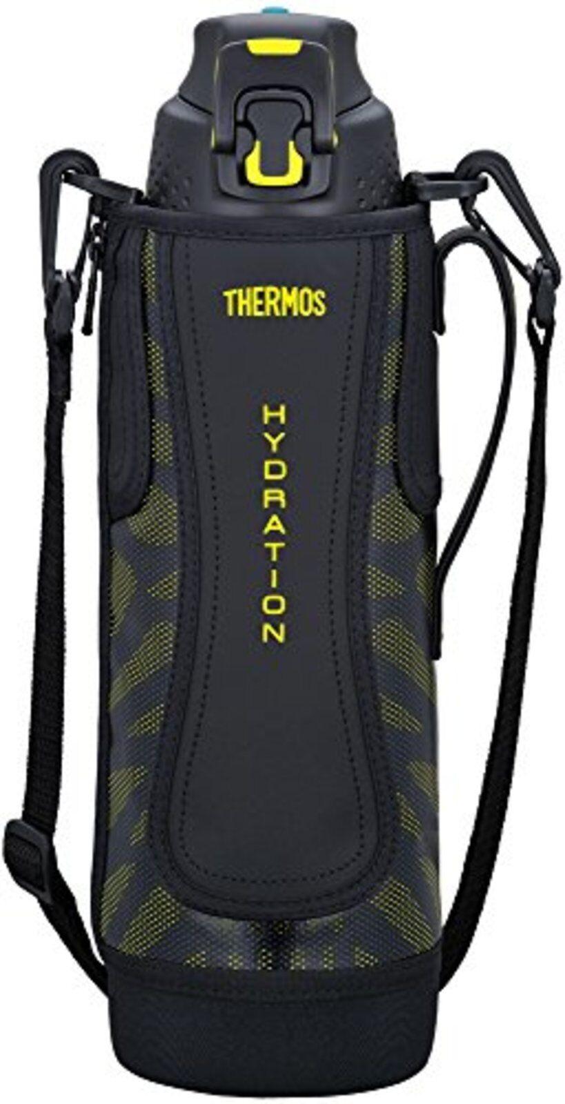 Thermos Aspirateur Isolation Bouteille Sports 1,5 L Noir Jaune Ffz-1501f Bky F