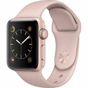 Apple Watch Series 3 38mm Gps Gold Pink Sport Band Ebay