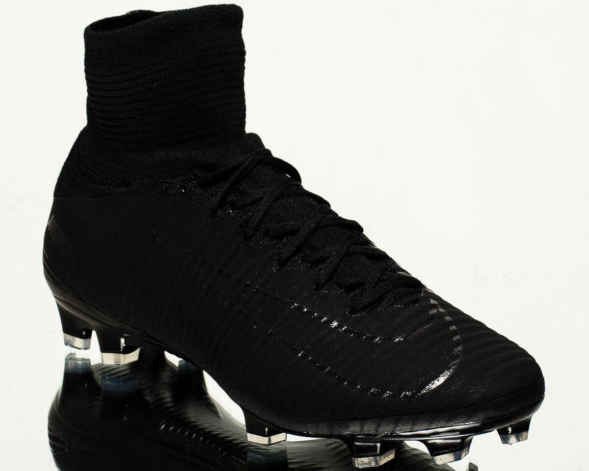 Nike Mercurial Superfly V DF FG men football soccer cleats NEW black 831940-001
