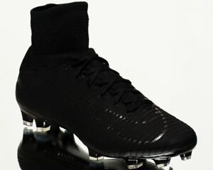 8acc5f456 Nike Mercurial Superfly V DF FG men football soccer cleats NEW black ...