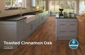 Laminated Toasted Cinnamon Oak