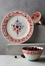NIB Anthropologie NORDIC SUNRISE Cereal Bowl Flowers Earthenware