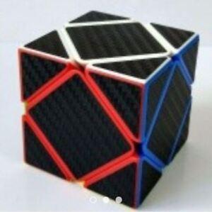 Rubik-039-s-Z-Cube-5-Carbon-Fiber-Skewb-Black