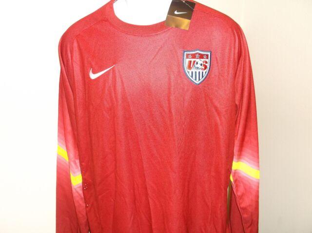 8648e357db1 Nike Dri Fit Team USA Long Sleeve Soccer Jersey - Adult XL nwt Free Ship