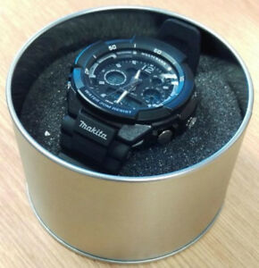 Fremragende Makita 98P155 Branded Digital Sports Watch - Metal Presentation SV21