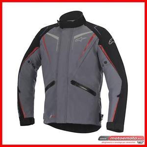 Alpinestars-Giacca-Moto-Yokohama-DS-Drystar-Laminato-Grigio-Scuro-Nero-Rosso