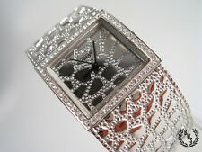 Guess W0223L1 Crocco Luxe Silver Tone Bracelet Watch NEW