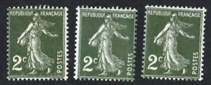 SEMEUSE-VARIETE-N-278-LES-TROIS-NUANCES-NEUFS-sans-defauts