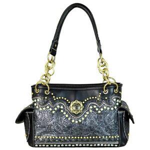 Montana-West-Country-Purse-Western-Cowgirl-Floral-Designer-Satchel-Handbag