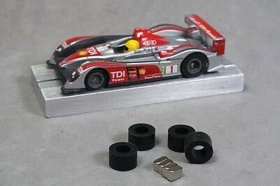 Tomy HO Slot Car Parts HCS AMG Neo 42 Traction Magnets Just For MEGA-G Plus