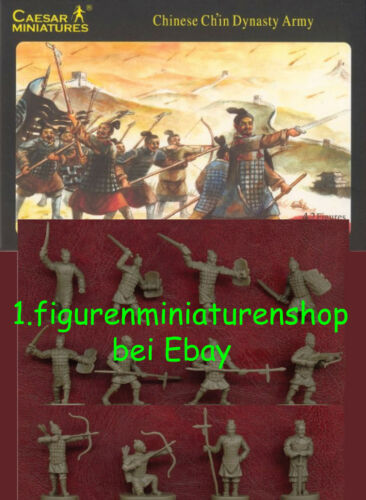 CAESAR 1:72 FIGUREN H004 CHINESE CH`IN DYNASTY ARMY