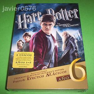 HARRY-POTTER-Y-EL-MISTERIO-DEL-PRINCIPE-NUEVO-Y-PRECINTADO-2-DISCOS-DVD-LIBRO