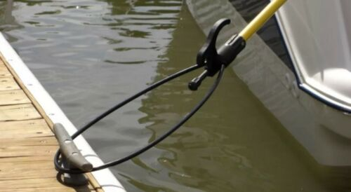 The Boat Loop MT4-8XL Extendable Docking Pole Hook For Landing and Mooring