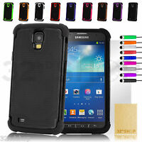 NEW SHOCK PROOF CASE COVER FOR Samsung Galaxy S4 Active i9295 SCREEN PROTECTOR