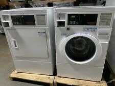 Speed Queen Commercial Front Load Washer Amp Gas Dryer Coin Operated Set Used
