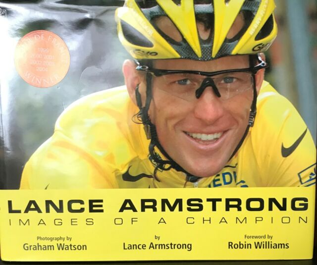 Cat Charity Auction Lance Armstrong Image of a Champion   Lance Armstrong inspir