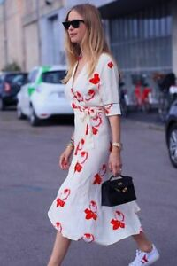 GANNI-VANILLA-ICE-HARLEY-FLORAL-PRINT-CREPE-WRAP-OVER-FLOWING-MIDI-LONG-DRESS-SM